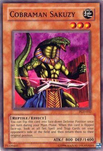 Duel Links Card: Cobraman Sakuzy