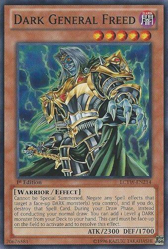 Duel Links Card: Dark General Freed