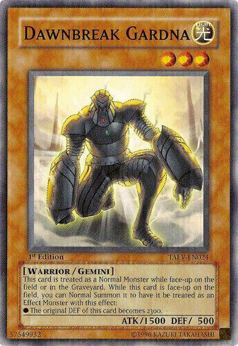 Duel Links Card: Dawnbreak%20Gardna
