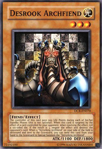Duel Links Card: Desrook%20Archfiend