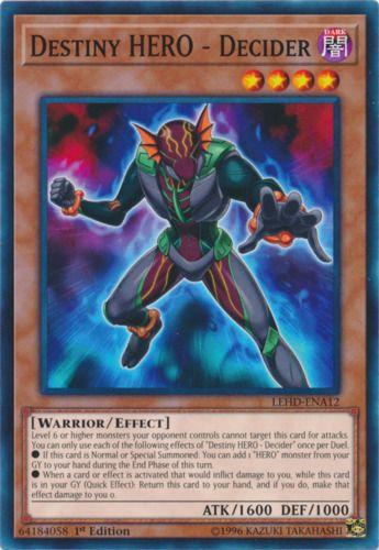 Duel Links Card: Destiny%20Hero%20-%20Decider