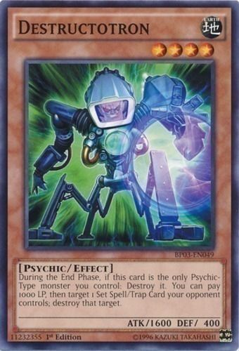 Duel Links Card: Destructotron