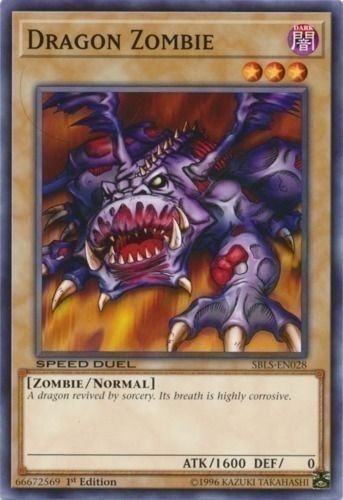Duel Links Card: Dragon Zombie