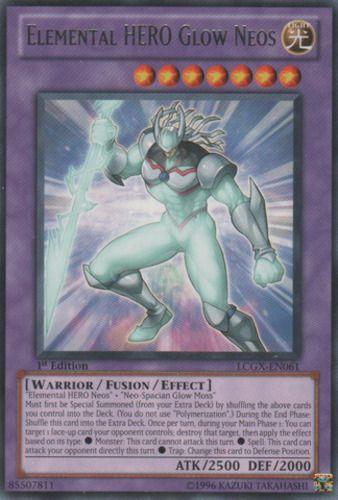 Duel Links Card: Elemental HERO Glow Neos