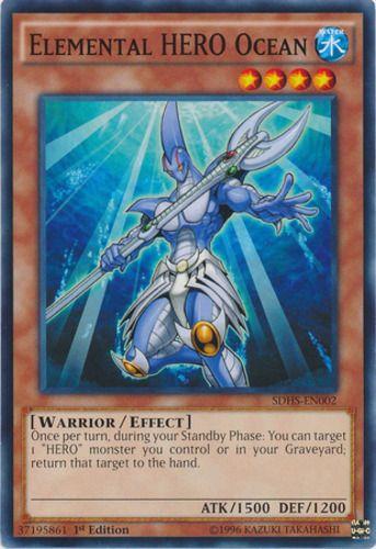 Duel Links Card: Elemental HERO Ocean