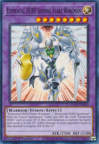 Duel Links Card: Elemental%20HERO%20Shining%20Flare%20Wingman