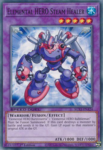 Duel Links Card: Elemental%20HERO%20Steam%20Healer