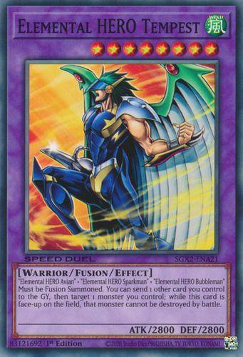 Duel Links Card: Elemental%20HERO%20Tempest