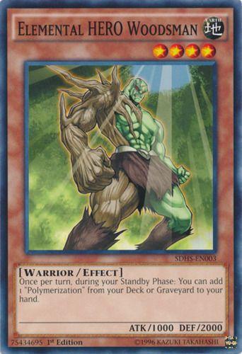 Duel Links Card: Elemental HERO Woodsman