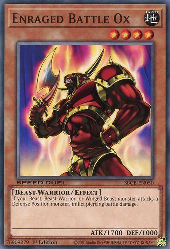 Duel Links Card: Enraged Battle Ox