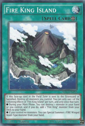 Duel Links Card: Fire King Island
