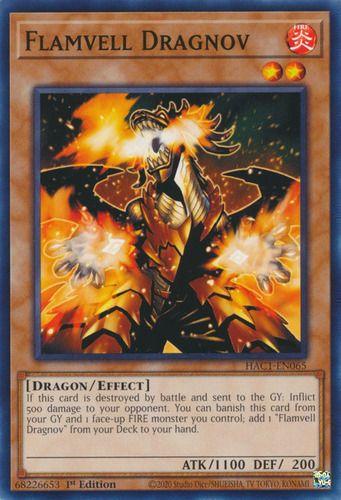Duel Links Card: Flamvell Dragnov