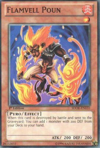 Duel Links Card: Flamvell%20Poun