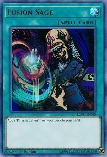 Duel Links Card: Fusion Sage