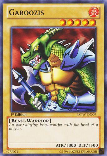 Duel Links Card: Garoozis