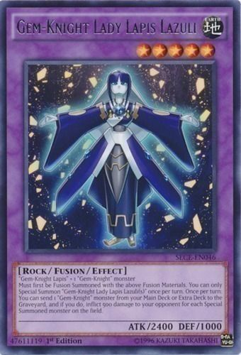 Duel Links Card: Gem-Knight Lady Lapis Lazuli