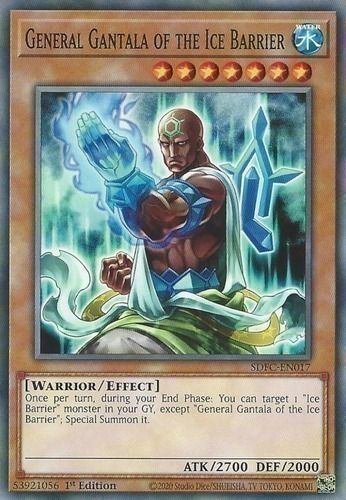 Duel Links Card: General Gantala of the Ice Barrier
