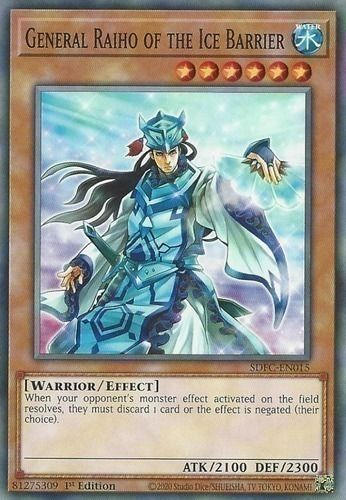 Duel Links Card: General%20Raiho%20of%20the%20Ice%20Barrier