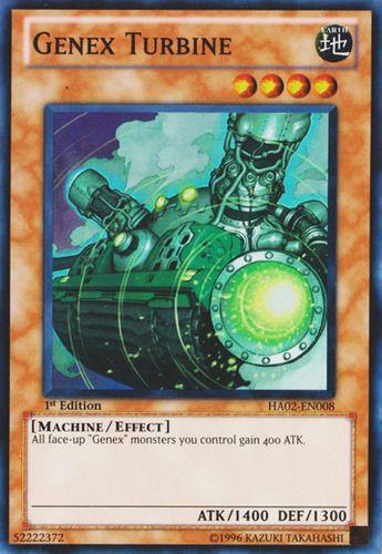 Duel Links Card: Genex Turbine