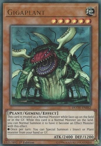 Duel Links Card: Gigaplant