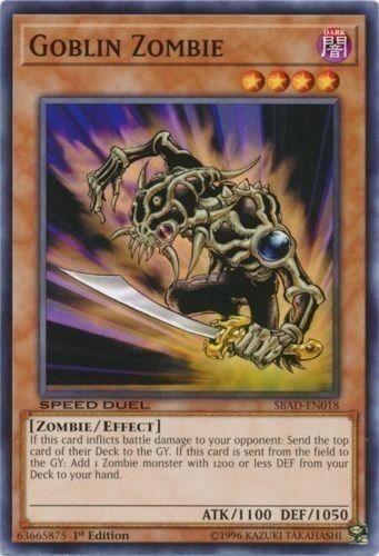 Duel Links Card: Goblin%20Zombie