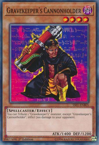 Duel Links Card: Gravekeeper's%20Cannonholder