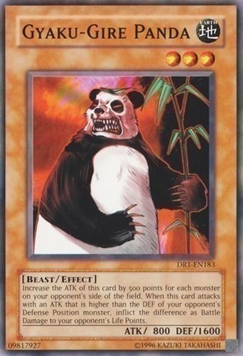 Duel Links Card: Gyaku-Gire Panda