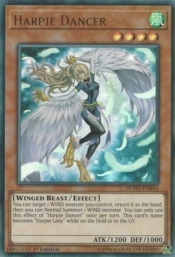 Duel Links Card: Harpie Dancer