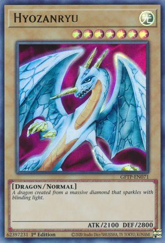 Duel Links Card: Hyozanryu