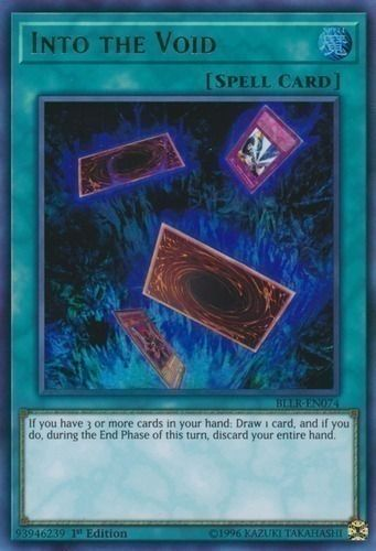 Duel Links Card: Into the Void