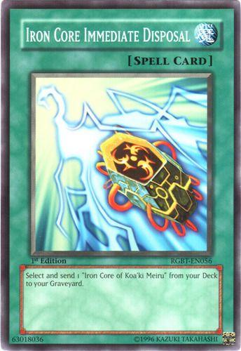 Duel Links Card: Iron%20Core%20Immediate%20Disposal