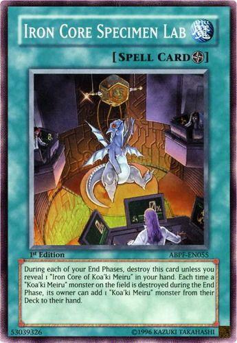 Duel Links Card: Iron%20Core%20Specimen%20Lab