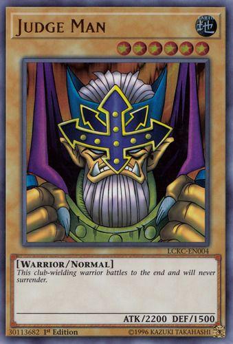 Duel Links Card: Judge Man