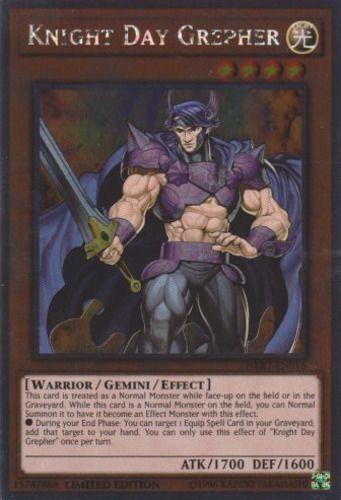Duel Links Card: Knight Day Grepher