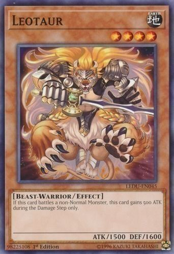 Duel Links Card: Leotaur