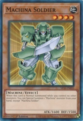 Duel Links Card: Machina Soldier