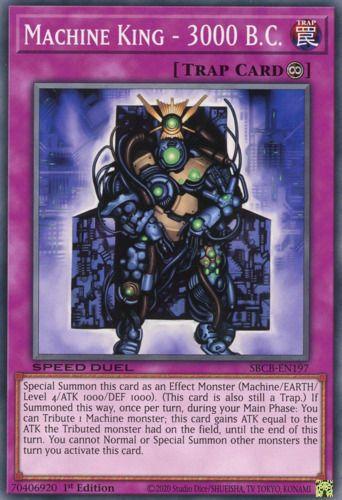 Duel Links Card: Machine King - 3000 B.C.