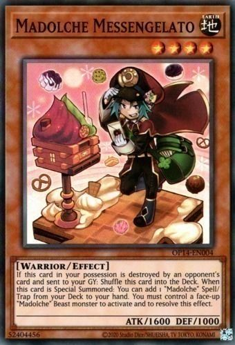 Duel Links Card: Madolche Messengelato