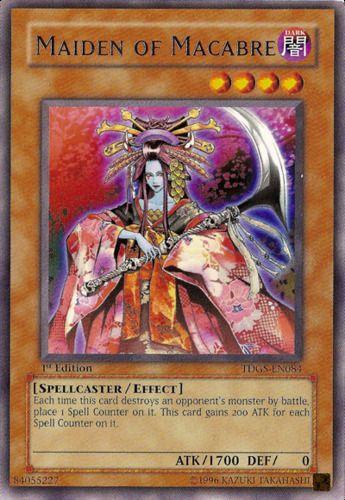 Duel Links Card: Maiden of Macabre