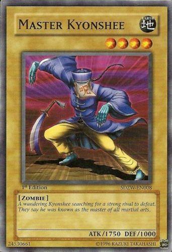 Duel Links Card: Master Kyonshee