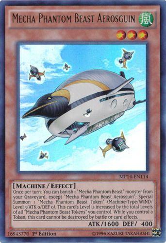 Duel Links Card: Mecha Phantom Beast Aerosguin