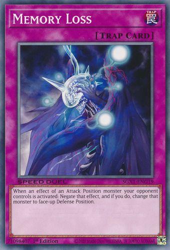 Duel Links Card: Memory Loss