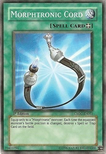Duel Links Card: Morphtronic%20Cord