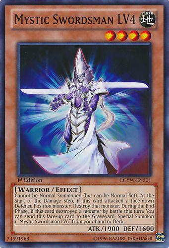 Duel Links Card: Mystic Swordsman LV4