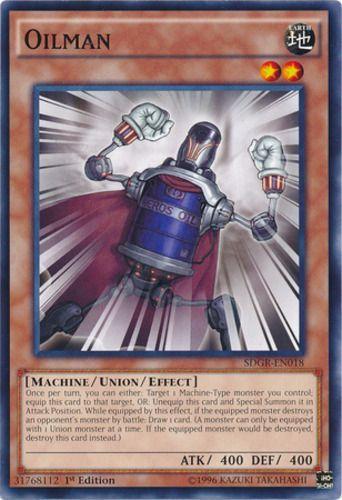Duel Links Card: Oilman