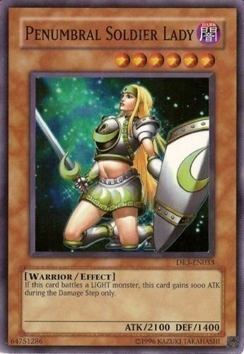 Duel Links Card: Penumbral Soldier Lady
