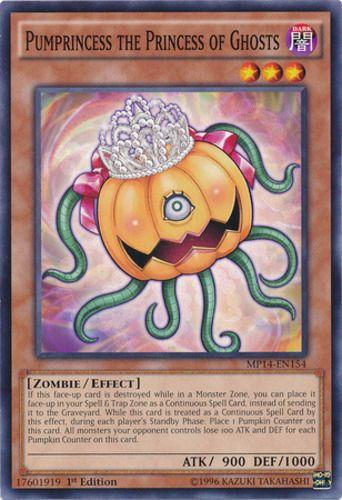 Duel Links Card: Pumprincess the Princess of Ghosts