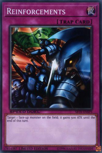 Duel Links Card: Reinforcements
