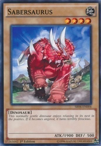 Duel Links Card: Sabersaurus