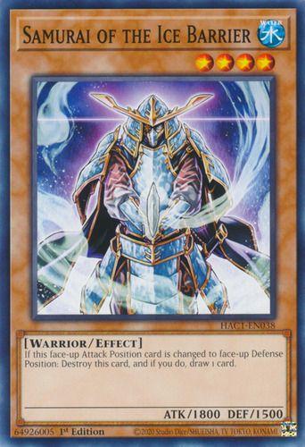 Duel Links Card: Samurai of the Ice Barrier